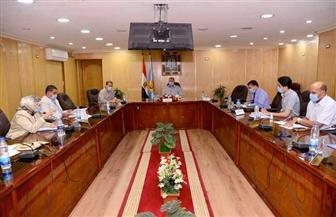 محافظ أسيوط يترأس اجتماع اللجنة المحلية للخدمة العامة | صور