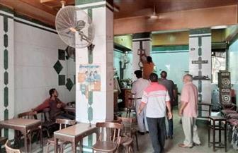 حملة لضبط المقاهي المخالفة للإجراءات الاحترازية لفيروس كورونا بالشرقية
