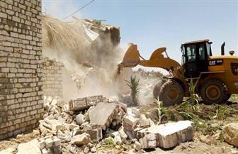 محافظ الفيوم: إزالة 247 حالة تعد على أراضي أملاك الدولة بالفيوم |صور