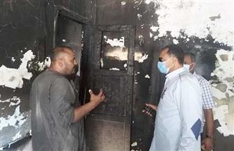 السيطرة على حريق في شقة سكنية بالقصير دون خسائر بشرية | صور
