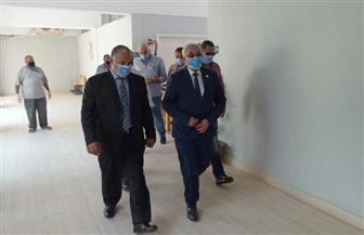 نائب وزير التعليم يتفقد كنترول الثانوية بمجمع الإسماعيلية ويطمئن على الإجراءات الاحترازية | صور