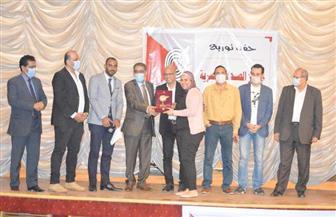 """""""الأهرام الاقتصادي"""" تحصد جائزة الصحافة الاقتصادية بجوائز الصحافة المصرية"""