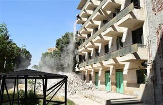 صيانة مباني المدينة الجامعية بسوهاج بتكلفة 9 ملايين جنيه | صور