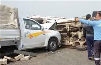 """مصرع مواطن وإصابة اثنين آخرين في حادث تصادم على طريق """"سفاجا - قنا"""""""