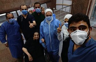 خروج 3 حالات بعد تعافيهم من كورونا من مستشفى الأقصر العام |صور