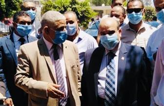 محامو شبين القناطر يلتقون بمساعد وزير العدل لمتابعة تجديد المحكمة