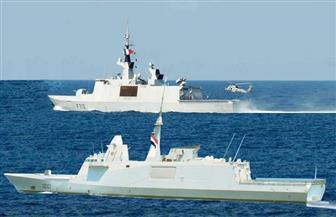 القوات البحرية المصرية والفرنسية تنفذان تدريبا بحريا عابرا في نطاق البحر المتوسط