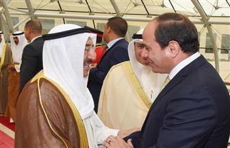 الديوان الأميري الكويتي: الرئيس السيسي يطمئن على صحة أمير الكويت
