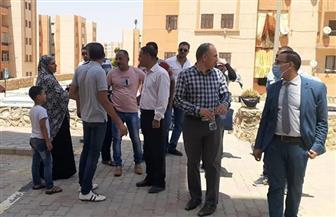 رئيس جهاز مدينة بدر يتفقد الأحياء السكنية بالمدينة لبحث مقترحات وشكاوى السكان|صور