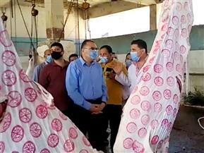 محافظ الشرقية يتفقد مجزر ديرب نجم لمتابعة أعمال الذبح استعدادا لاستقبال عيد الأضحى |صور