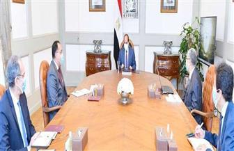 """الرئيس السيسي يتابع الموقف التنفيذي للمشروعات القومية للكهرباء و""""محطة الضبعة النووية"""""""