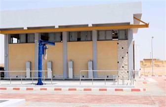 بدء التشغيل التجريبي لتوسعات محطة معالجة مياه الصرف الصحي بالأقصر| صور