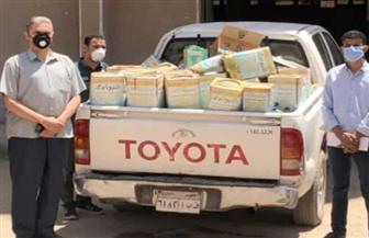 ضبط ألف علبة شيكولاتة و450 كيلو جبن ومنتجات غذائية منتهية الصلاحية في الفيوم
