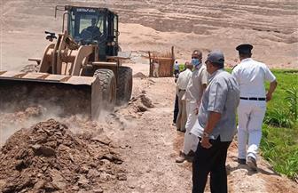 تنفيذ  29 حالة إزالة تعد على أملاك الدولة والأراضى الزراعية بسوهاج