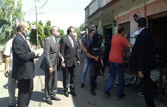 محافظ كفر الشيخ يضبط لحوما مذبوحة خارج المجازر ويصادرها لصالح المستشفى العام | صور