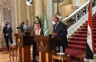 سامح شكري: مصر تسعى لاستقرار ليبيا وتواصلنا مع عدد من الدول الشقيقة والصديقة