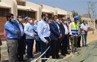 رئيس جامعة عين شمس يتفقد أعمال التطوير ورفع الكفاءة بالمدن الجامعية وملحقاتها | صور