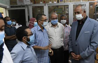 تعافي وخروج ٨٢١  مصابا بفيروس كورونا من مستشفى الحميات بقنا| صور