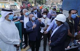 وزير النقل يتفقد عقار الزمالك وموقع مشروع مترو الأنفاق لمتابعة الإجراءات اللازمة بالمنطقة