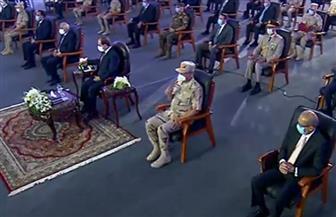 """الرئيس السيسي يشهد فيلما تسجيليا بعنوان """"خيوط الأمل"""""""