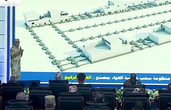 رئيس الهيئة الهندسية يستعرض طبيعة العمل بمجمع مصانع الغزل بمدينة الروبيكي