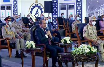 """الرئيس السيسي لـ""""المصريين"""": قلقكم من سد النهضة """"مشروع"""" و لن نوقع على شيء لا يحقق المصلحة القومية"""