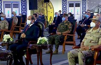 """الرئيس السيسي: """"محدش يقدر يجور علينا سواء في المياه أو أي شيء آخر"""""""