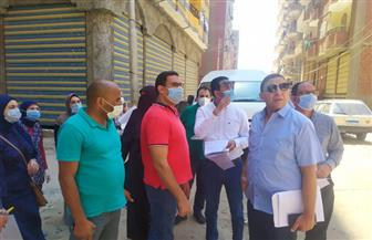 لجنة مراجعة تراخيص البناء تمر على المنشآت والمباني للتأكد من مطابقتها بالفيوم | صور