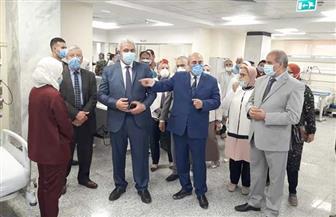 رئيس جامعة الأزهر يفتتح قسم الرعاية المركزة بمستشفى الزهراء الجامعي بعد تجديده | صور
