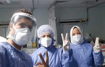 خروج ٥ حالات من مستشفى الأقصر العام بعد شفائهم من كورونا ليصل إجمالي الشفاء ٣٨٧ حالة