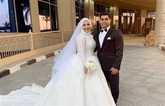 البطل الأوليمبي محمد إيهاب يتزوج من نورهان محمد مكرم