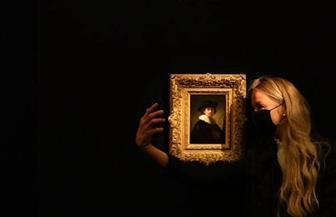 """بيع لوحة رامبرانت """"الذاتية"""" بـ18.7 مليون دولار"""