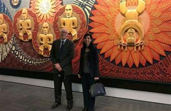سفيرة مصر بنيوزيلندا تلتقى مستشار العلاقات الخارجية للمكتبة الوطنية النيوزيلندية