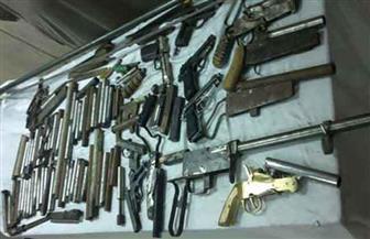 القبض على مسجل لقيامه بتصنيع الأسلحة النارية بمسكنه والاتجار بها فى أكتوبر