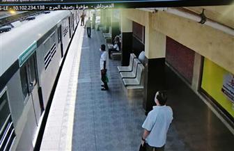 مترو الأنفاق يوضح سبب العطل بين محطتي غمرة والدمرداش   صور