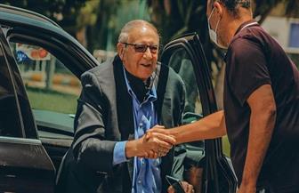 عبد السلام يزور معسكر المقاصة ويتابع ودية الإسماعيلي | صور