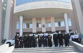 محافظة البحر الأحمر تستقبل وفد الكنيسة والأديرة لتقديم التهنئة بعيد الأضحى المبارك | صور