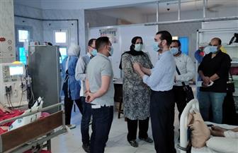 وكيلة الصحة بكفرالشيخ تتفقد مستشفى الرياض المركزي وتؤكد البدء في عمليات الإحلال والتجديد | صور