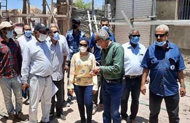 نائبة محافظ البحر الأحمر تتفقد أعمال تطوير مجزر رأس غارب  صور