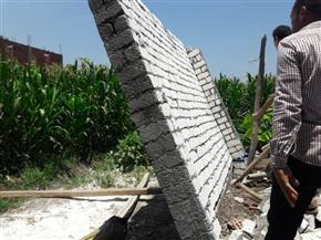 محافظ المنوفية: إزالة 468 حالة تعد علي الأراضي الزراعية بالمحافظة | صور