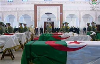 نقل رفات 24 من شهداء الثورة الجزائرية لقصر الثقافة لإلقاء النظرة الأخيرة عليها