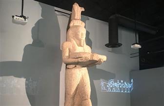 """تماثيل إيزيس وأبى الهول فى معرض""""المدن الغارقة.. عالم مصر الساحر"""" بأمريكا  صور"""