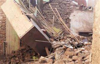 انهيار منزل بسوهاج دون خسائر بشرية