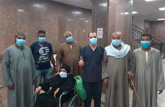 مستشفى الأقصر: خروج 13 حالة بعد شفائهم من فيروس كورونا | صور