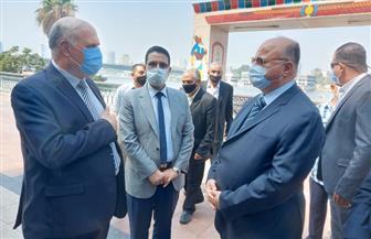 محافظ القاهرة يتفقد كورنيش النيل والحديقة الدولية ويشدد على غلق المولات |صور