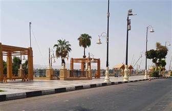 شوارع الأقصر خالية من المواطنين في أول أيام العيد   صور