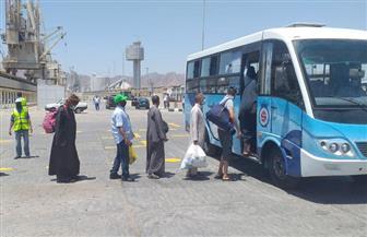 وزير النقل يتابع وصول 1036 راكبا من المصريين العائدين من السعودية والأردن | صور