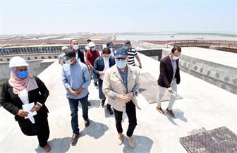 وزير الإسكان يتفقد محطة معالجة صرف صحي وصناعي شطا بدمياط لخدمة 150 ألف نسمة | صور
