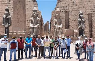 استعدادا لبدء استقبال الوفود السياحية.. نقابة المرشدين تنظم جولة داخل المعالم الأثرية بالأقصر |صور