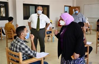 ٢٢٦٩ طالبا وطالبة أدوا امتحاناتهم اليوم بجامعة القناة وسط إجراءات وقائية مشددة